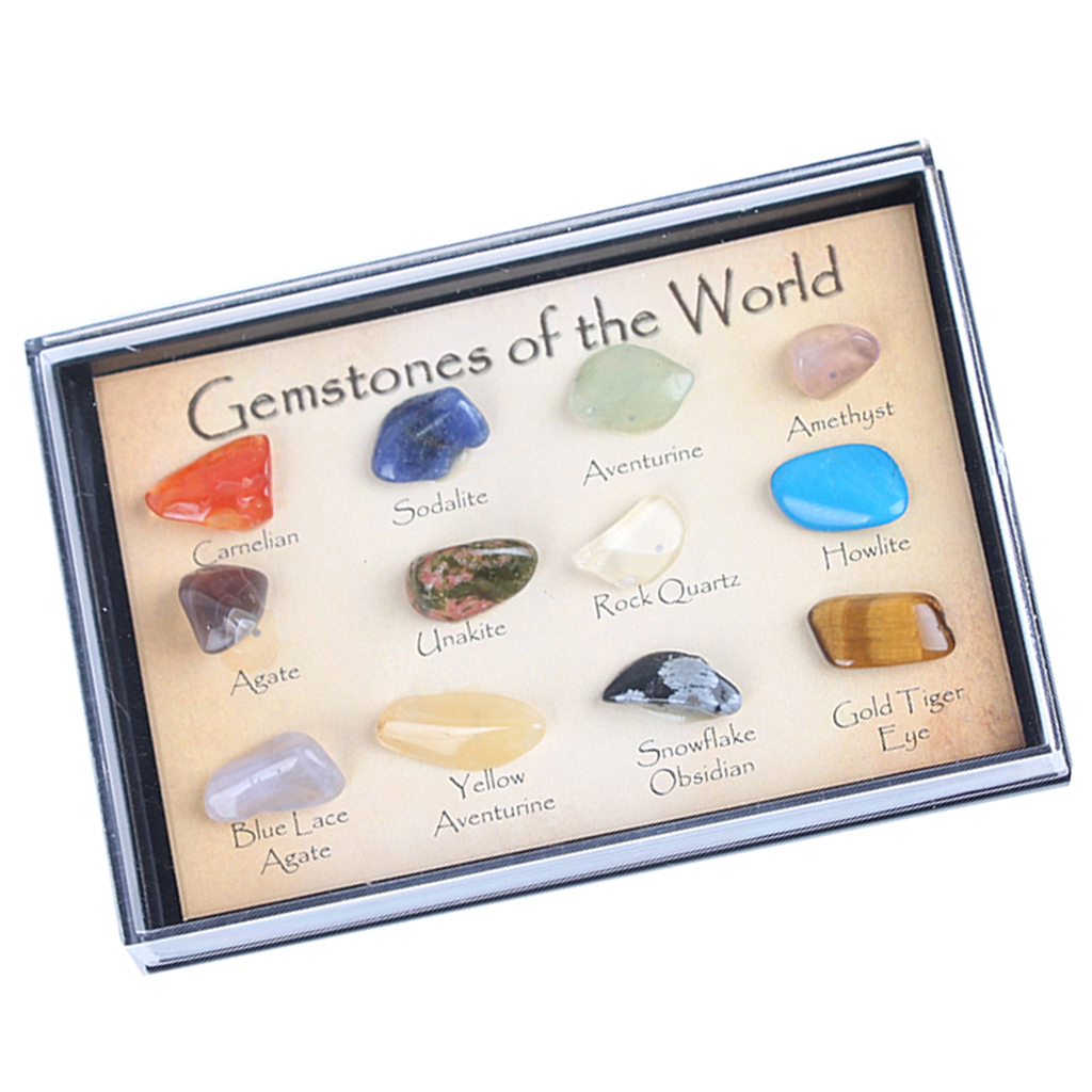Rock & Mineral Collection Geology Science Kit Earth Science Toy - Pack Of 15