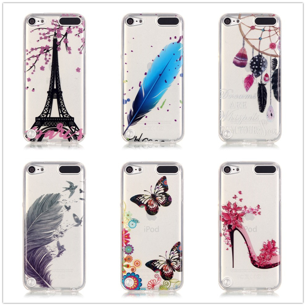 For ipod touch 5 6 case soft silicone phone cases capa for for Housse ipod touch 5