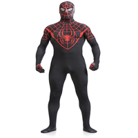 S XXL Marvel Halloween Lycra The Amazing Spiderman Costume Adult Cosplay Mask Lens Including Strong Stretch