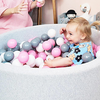 400 Pcs/Set Baby Plastic Ocean Balls Children Outdoor Sports Bouncy Ball Colorful Soft Toys Baby Water Pool Wave Swim Pits Toy