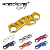 Motorcycle Lowering Triple Tree Front End Upper Top Clamp For Suzuki GSXR1000 2006 2010 gsxr600 06 09