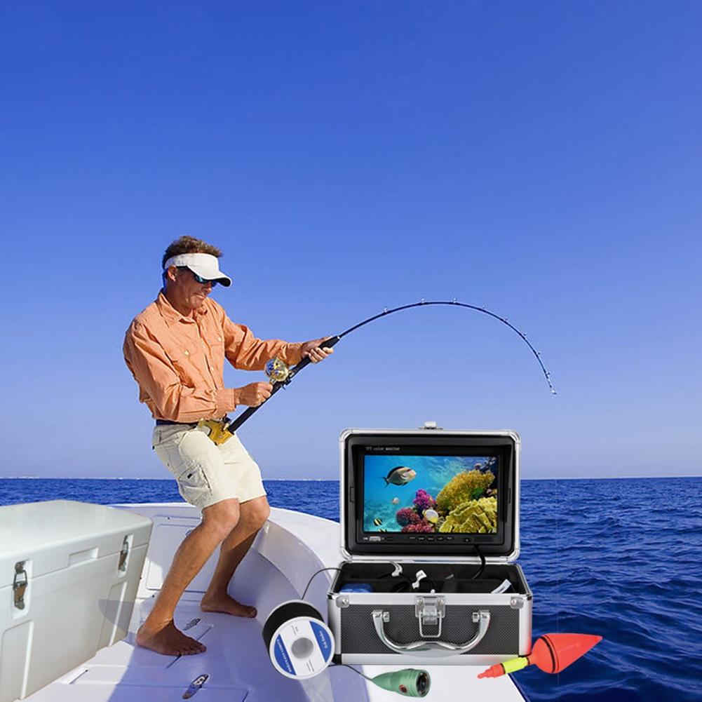 1000TVL Finder HD Recorder Waterproof Fishing Video Waterproof Underwater Ice  LCD Video Fishing Camera Fish Finder 20m/30m