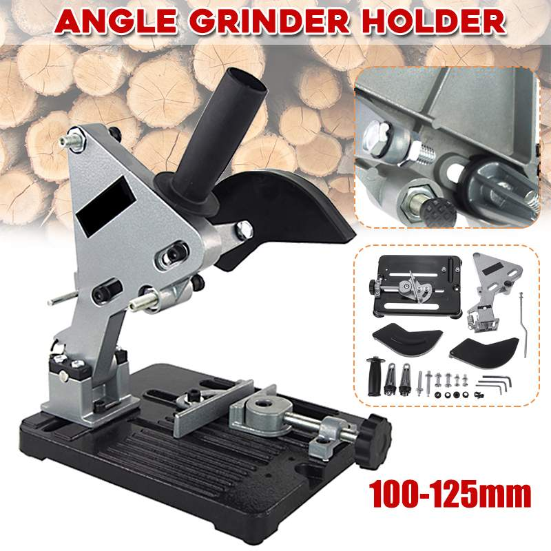 Doersupp Angle Grinder Holder Woodworking Tool DIY Cutting Stand Grinder Support Dremel Power Tools Accessories