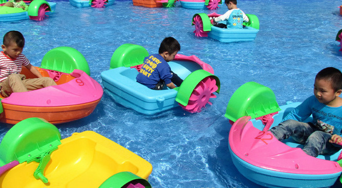 Power Paddler BoatCE Certificate Hot Selling Hand Kids Pedal Boats In Water Play Equipment From Sports Entertainment On Aliexpress