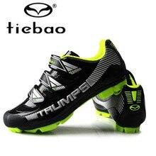 TIEBAO sapatilha ciclismo mtb Cycling Shoes zapatillas deportivas hombre Mountain Bike Shoes Outdoor men sneakers Bicycle Shoe