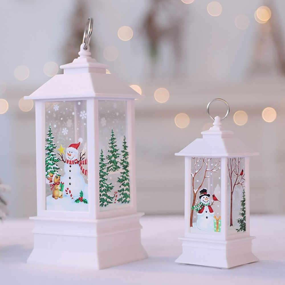 Weihnachten Dekorationen für Home Led 1 stücke Weihnachten Kerze mit LED Tee licht Kerzen Weihnachten Baum Dekoration Kerst Decoratie