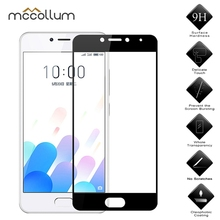 Full Cover Tempered Glass For Meizu M3 Mini Screen Protector On Max M5 M6 Note Meilan 5C A5 M3E M2E S6 M6S Protective