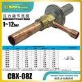 Автоматический расширительный клапан используется в охладителе воды и тепловых насосах с одним впрыскиваемым испарителем и без дистрибью...
