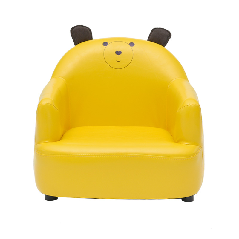 Kids Small Sofa Household Lovely Thicken Kids Chair Washable Mini Lazy Sofa Stable Cartoon Toy Seat Soft Sponge Sofa Easy Clean