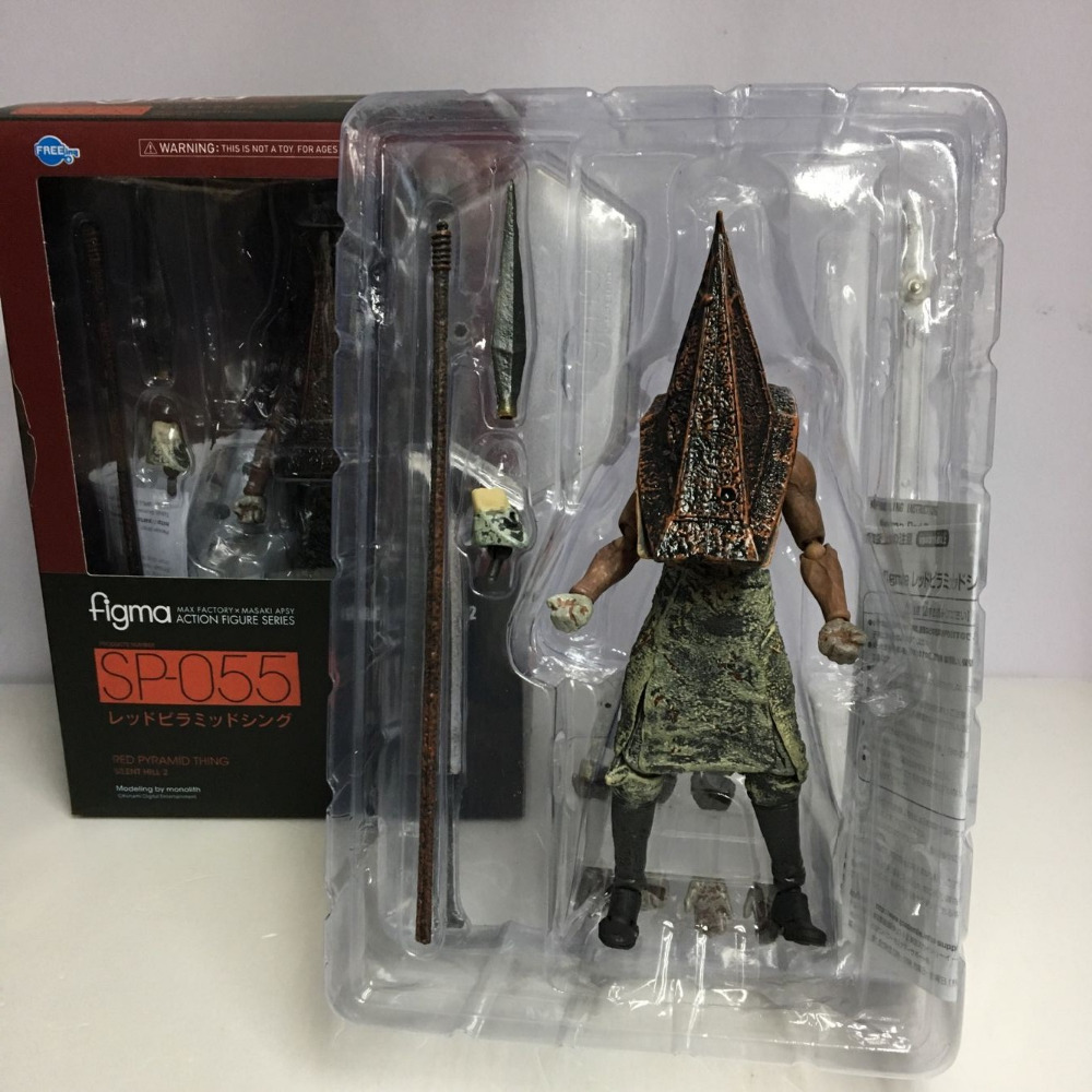 Figma SP055 Silent Hill 2 Red Pyramd Thing PVC Action Figure Collectible Model Toy one punch man saitama figma 310 pvc action figure collectible model toy