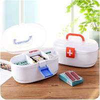 Multi layer Portable Medicine Chest Cabinet Health Care Plastic Drug First Aid Kit Box Storage Boxes Drawers Home