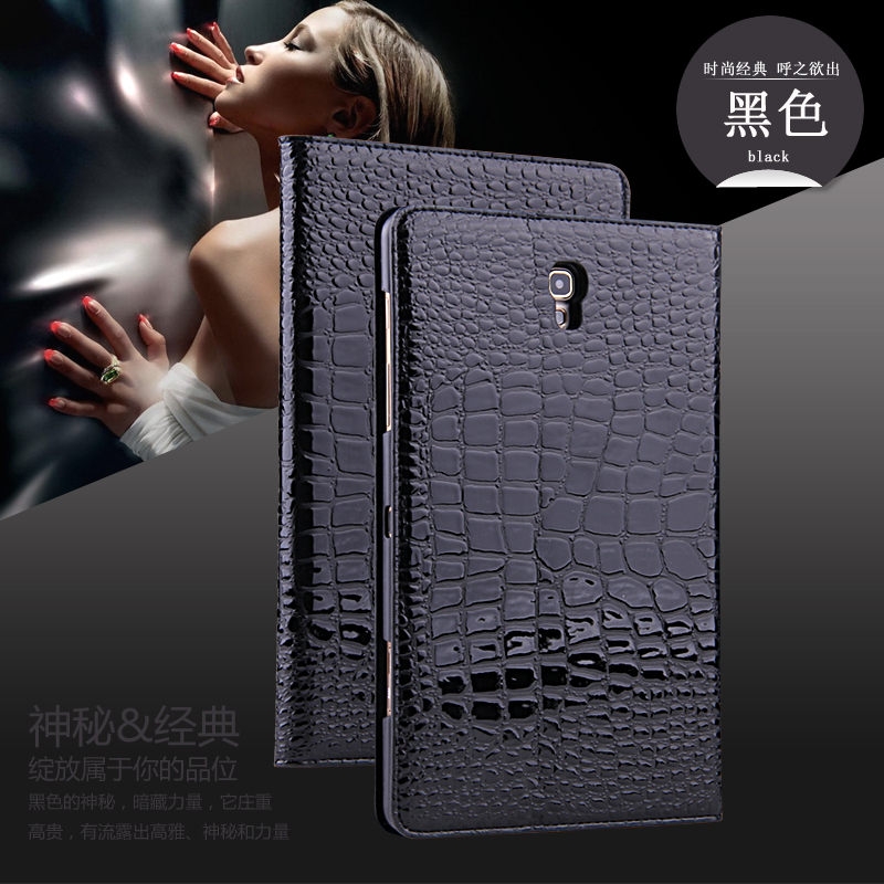 2014 NEWEST! Luxury Gold Ultra-Thin Smart Leather Cover Case For Samsung Galaxy Tab S 8.4 T700 T705 With Stand 9 Colors