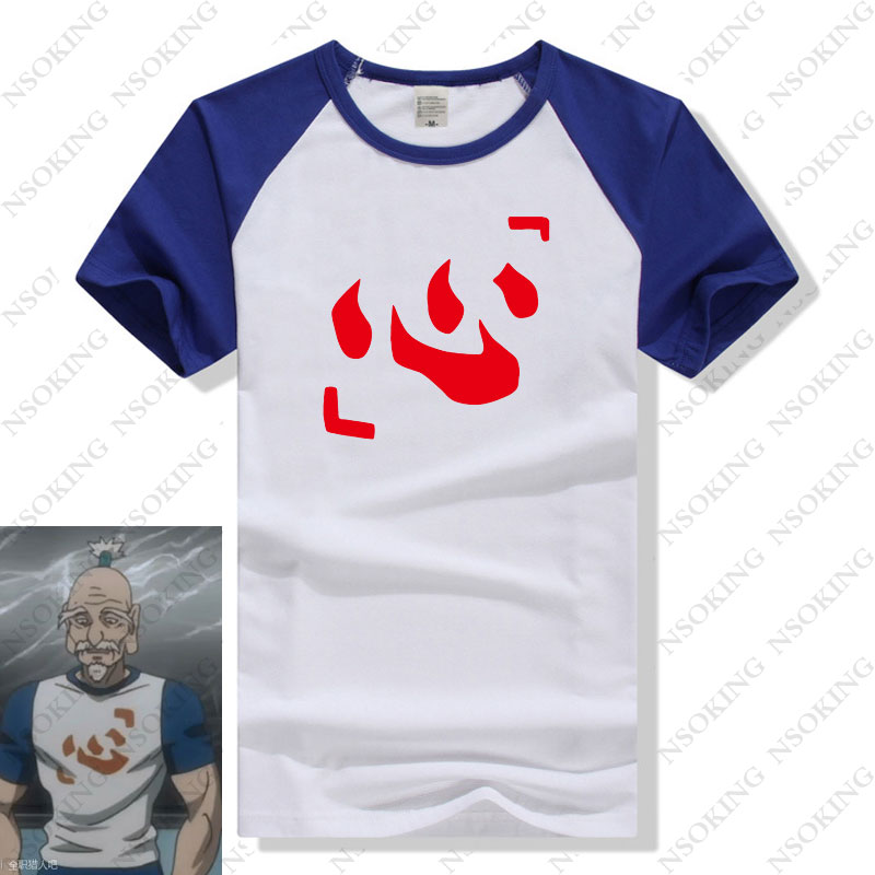 Hunter X Hunter Camiseta New Japan Anime Hunter Isaac Netero T-Shirt Cosplay