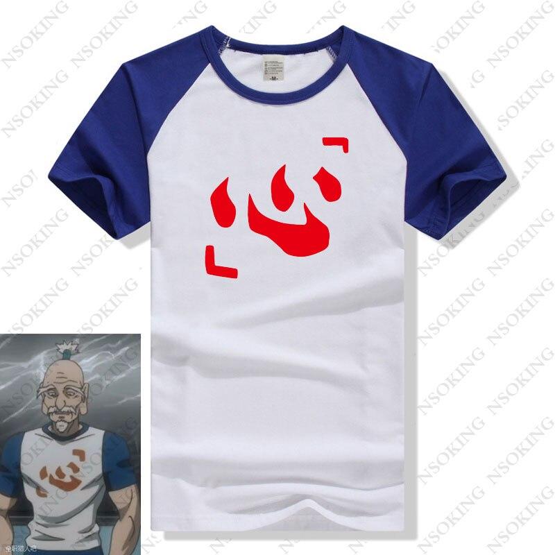 Hunter X Hunter T Hemd Japan Neue Anime Hunter Isaac Netero Cosplay T-Shirt