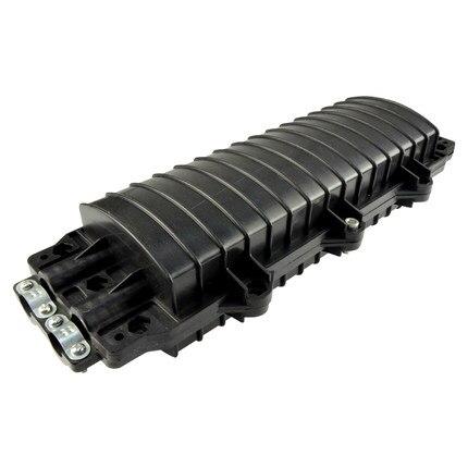 2 pcs 24 Core Fiber Optique Splice Box-2 dans et 2 sur-Étanche petit D type Optique De Fiber Commune boîte