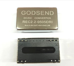 FREE SHIPPING REC2.2-0505DRI Power Module DC-DC Output Two 5V Double Isolation 2.2W