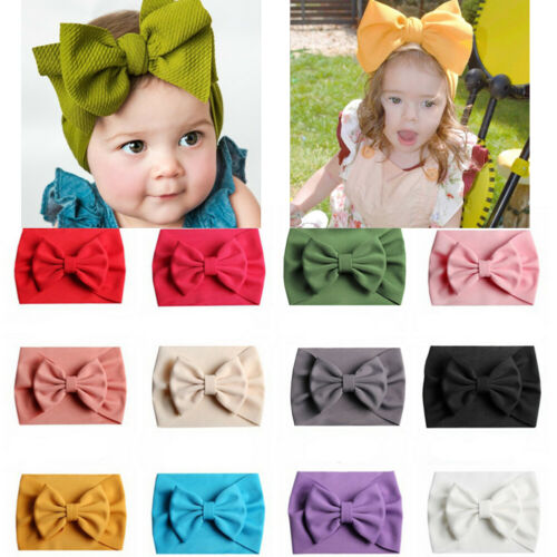 20PC Kid Baby Girl Toddler Infant Flower Headband Hair Bow Band Hair Accessories