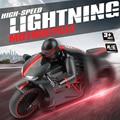 ET RC Игрушки 333-MT01A 2.4 Г высокая скорость мотоцикла Наклона 45 Градусов Вспышка Света Багги RC Мотоцикл Дистанционного Управления Мотоцикл