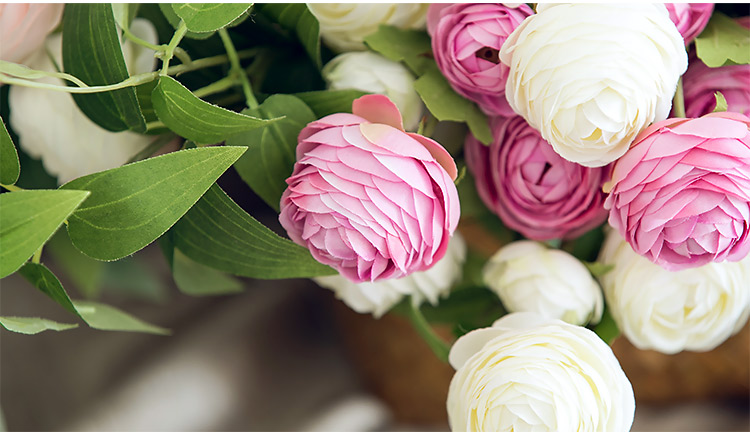 roses artificial flowers home decor (11)