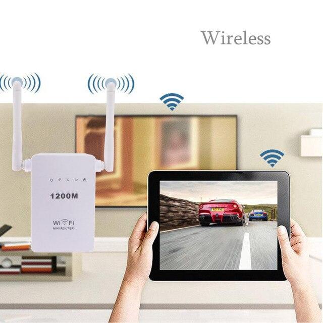Высокое качество 300 Мбит мини маршрутизатор wi-fi ретранслятор удлинитель усилитель двухдиапазонный
