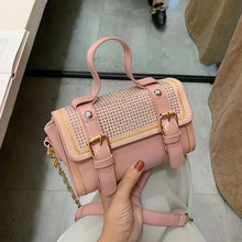 Female Crossbody Tote Bag For Women 2019 Quality PU Leather Luxury Handbag Designer Sac Main Ladies Rivet Shoulder Messenger Bag цена 2017