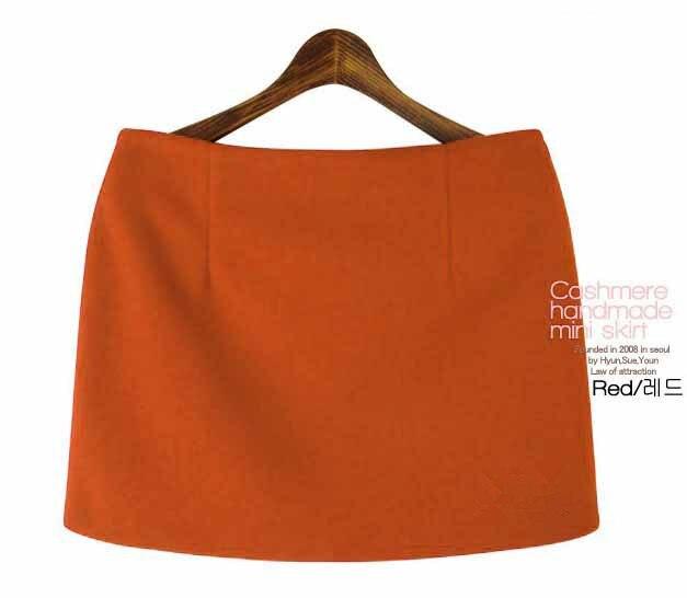 Moda Payız Qış Mini Etekləri 2016 Qadın Qatı İncə A-Xətti - Qadın geyimi - Fotoqrafiya 4