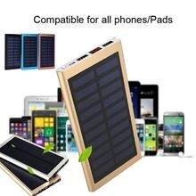 Ultra Delgado Panel de Carga Solar de Batería Externa Del Cargador Dual USB Banco de la Energía DIY Kit de Montaje para 606090 batería Acampar Al Aire Libre