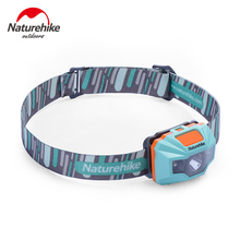 Naturehike Ultralight Waterproof USB Charge LED Headlamp 4 Modes Headlight For Night Fishing Hiking Camping Cycling Running