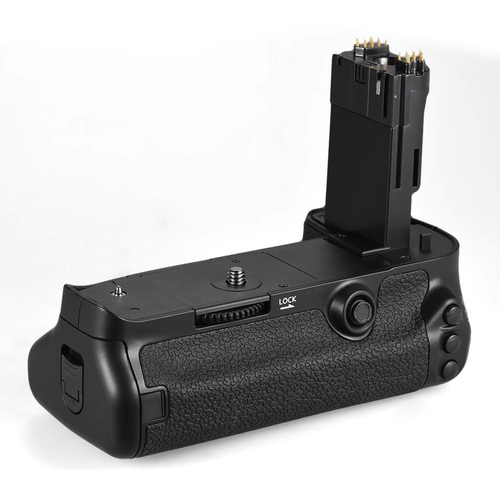 Prix pour Andoer bg-1w vertical batterie d'appareil photo holder grip pour canon eos 5d mark iv dslr remplacement pour bg-e20