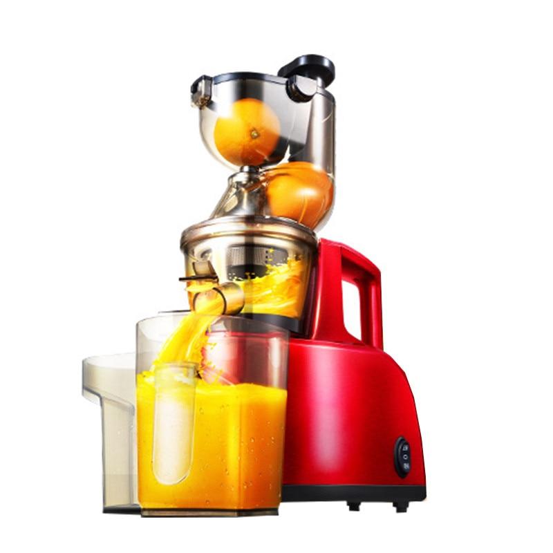BEIJAMEI slow speed large-caliber juicer extractor nutrition guava orange snow pear apple celery vegetable fruit juicer цена 2017