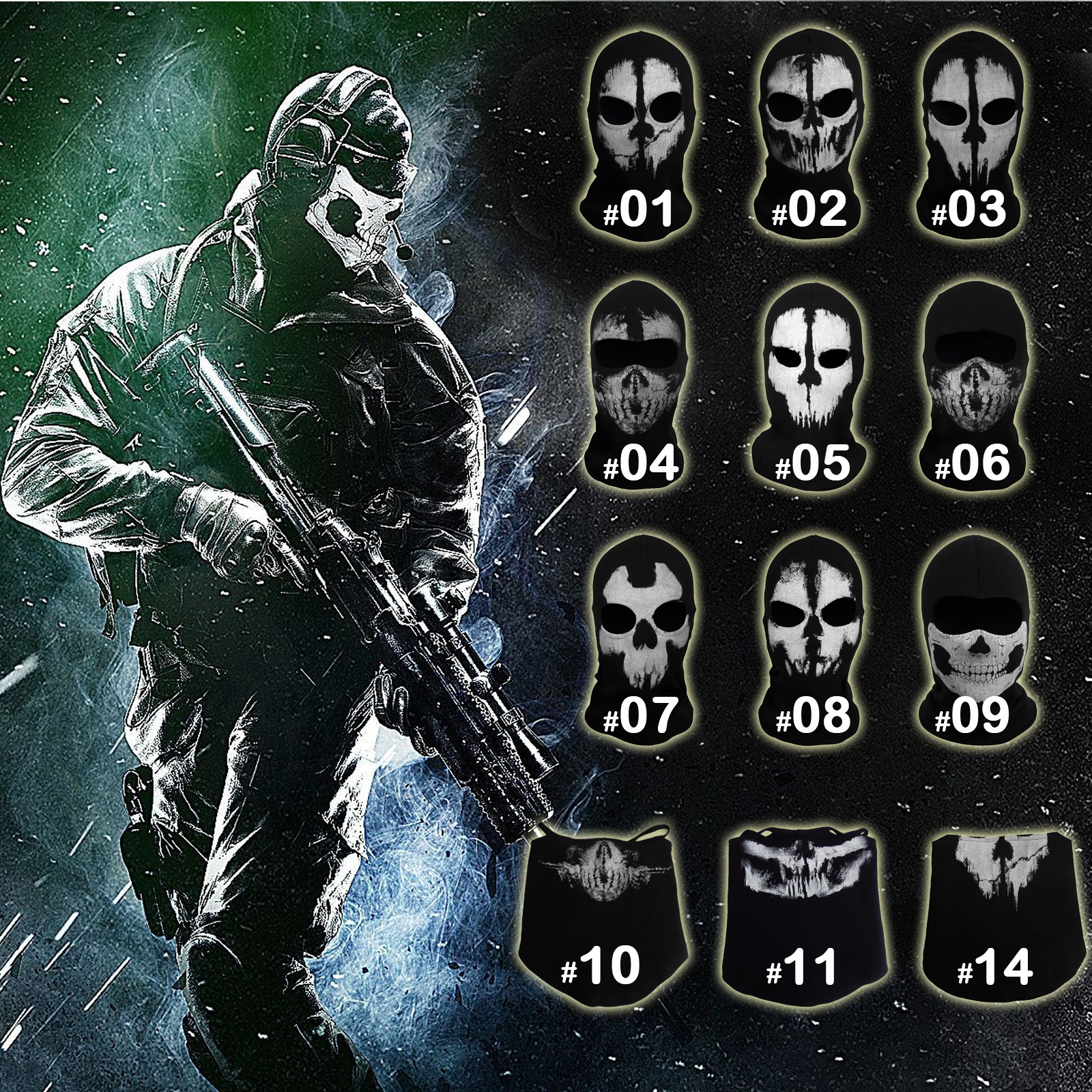Online Get Cheap Skull Ghost Mask -Aliexpress.com | Alibaba Group