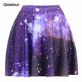 HOT! SEXY! Hot summer style supernova sale Women Purple SKIRTS Space Digital Printed Milk 3D SKIRTS Fitness DROP SHIPPING