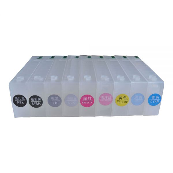 for Epson  Stylus Pro 3880 Refilling Cartridge--9pcs / - Office Electronics - Photo 5