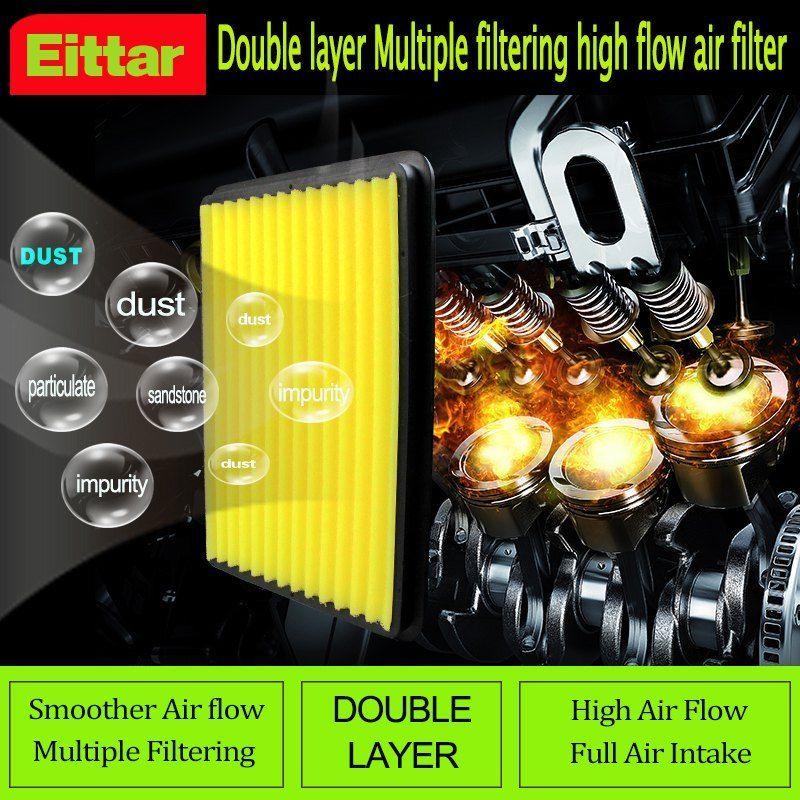 high flow air filter fit HYUNDAI AZERA 3 3L 2012 2016 match kn 33 2448