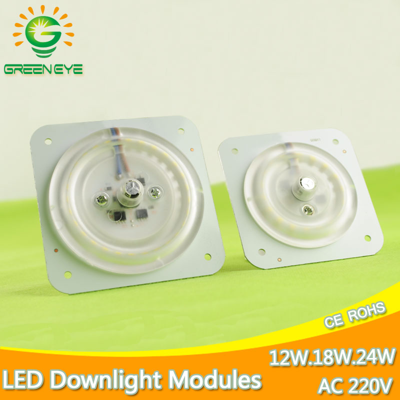Ultra Bright Thin Led Light Source Module 12W 18W 24W 220v 240v For Ceiling Lamp Downlight Replace Accessory Magnetic Board Bulb