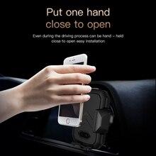 Automatique Induction QI Voiture Sans Fil Chargeur Pour l'iphone Samsung Xiaomi Wireless Rapide De Charge Chargeur De Voiture Téléphone Titulaire Air Vent