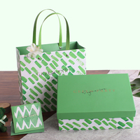 New 3 Size Green Gift Box Wedding Favor Wedding Souvenirs Wedding Party Decoration Mariage Colour