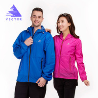 VECTOR Brand Waterproof Ultralight Jacket Lovers Sun UV Protection Outdoor Coat Men Women Sport Running Fishing