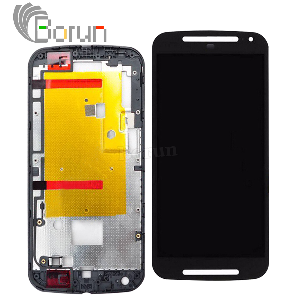 Tested Replacement for Motorola Moto G2 XT1063 XT1068 XT1069 LCD Display Screen with Touch Digitizer Assembly