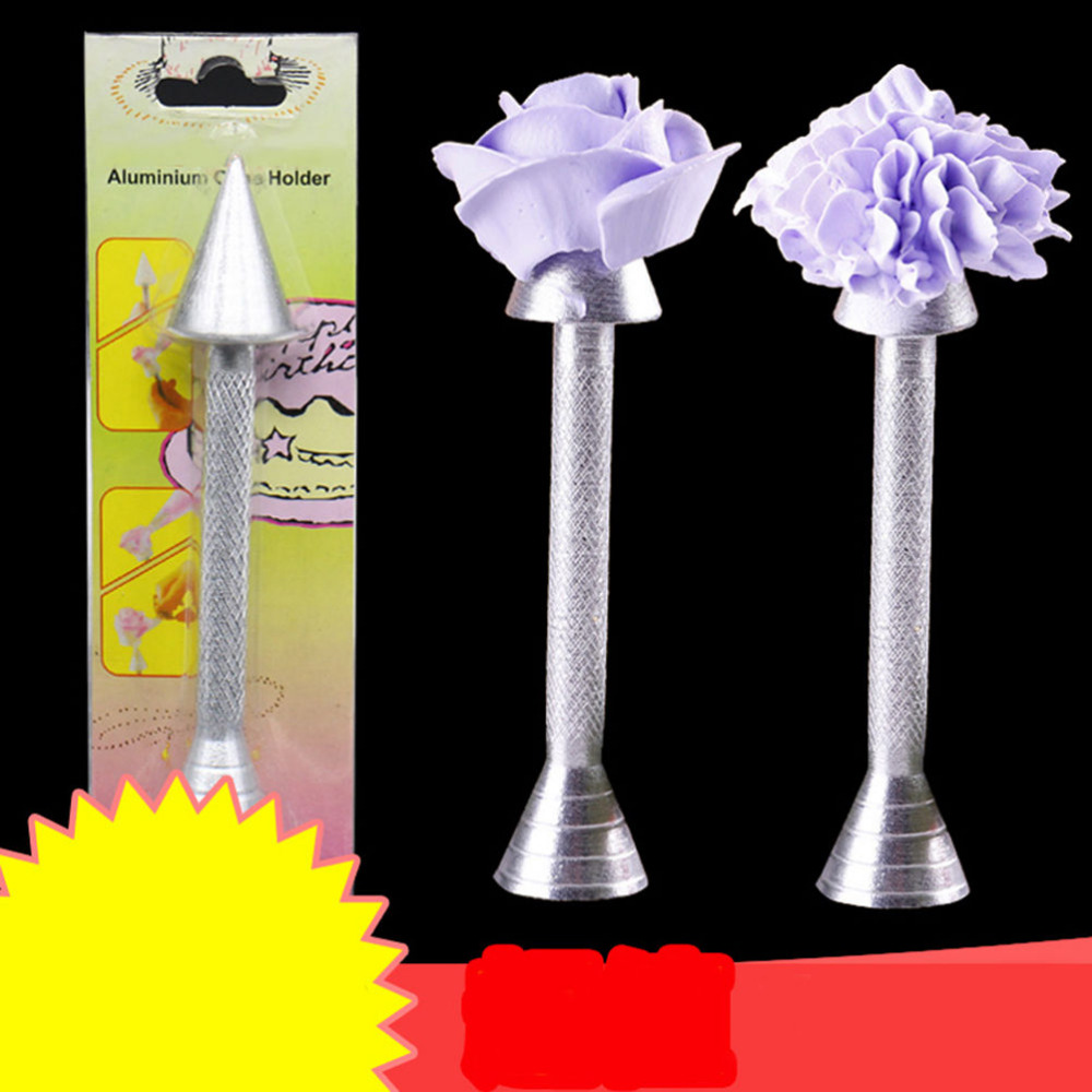 Cone Holder Piping Rod Icing Cream Flower Roses Cake