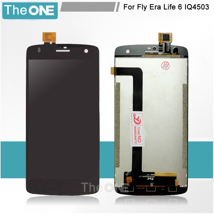 LCD Display For FLY Era Life 6 IQ4503 Touch Screen High Quality Replacement Parts