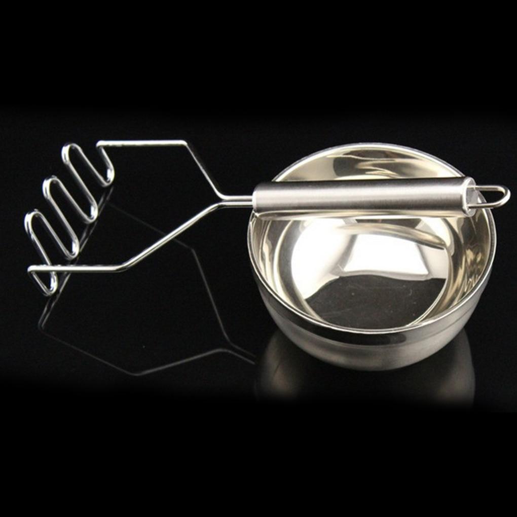 Stainless Steel Potato Masher Practical Kitchen Gadgets Potato Rice Press