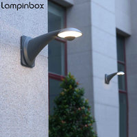 Outdoor Waterproof LED Wall Lamp Modern Home Lighting Waterproof IP65 Led Wall Light AC85 265V Garden