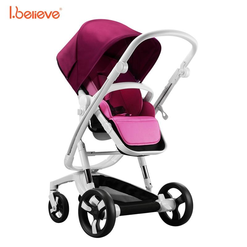 I.believe Baby Stroller I-S035A - ბავშვთა საქმიანობა და აქსესუარები - ფოტო 2