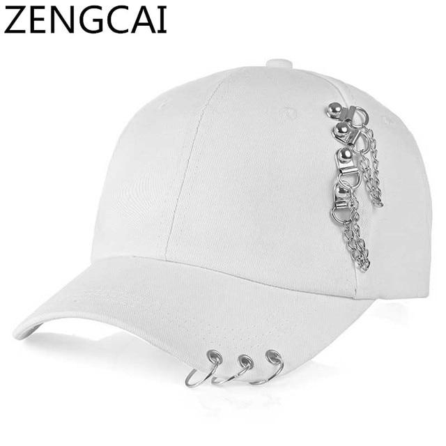 0e12d8c9d58 BTS Snapback Trucker Cap Dad Hat Rapper Baseball Caps With Rings Hop Hop  Hats For Women Men Adjustable Casual Solid Street Cap