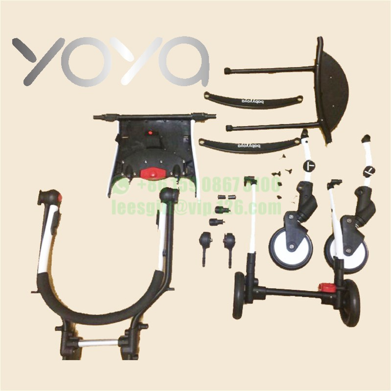 Yoya yuyu vovo babytime baby stroller frame wheel accessories rotate plastic part accessory under y sticker in strollers accessories from mother kids on