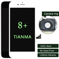 3PCS Display For IPhone 8 Plus LCD For Tianma Quality Touch Screen Digitizer Assembly Black White