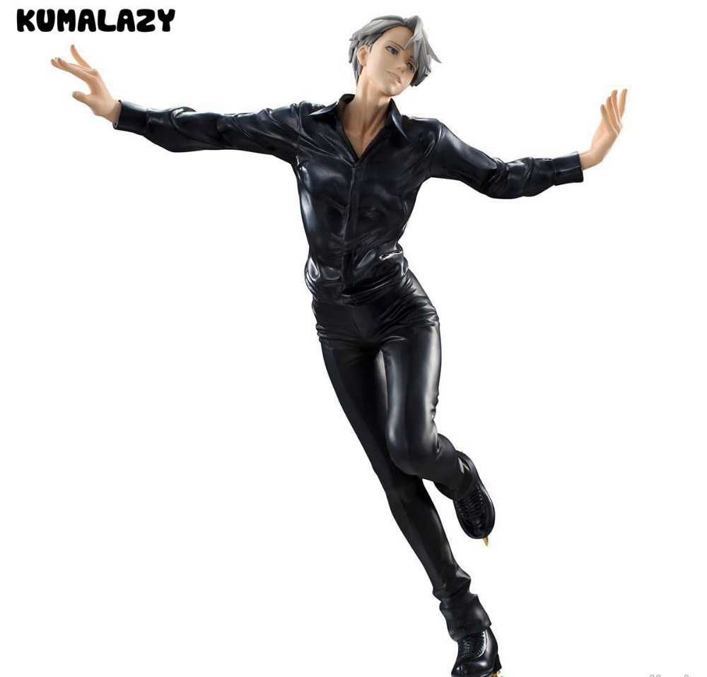 KUMALAZY Yuri On Ice Figure Victor Nikiforov MH Action Figure 23CM Doll Toy Model Action Figuras