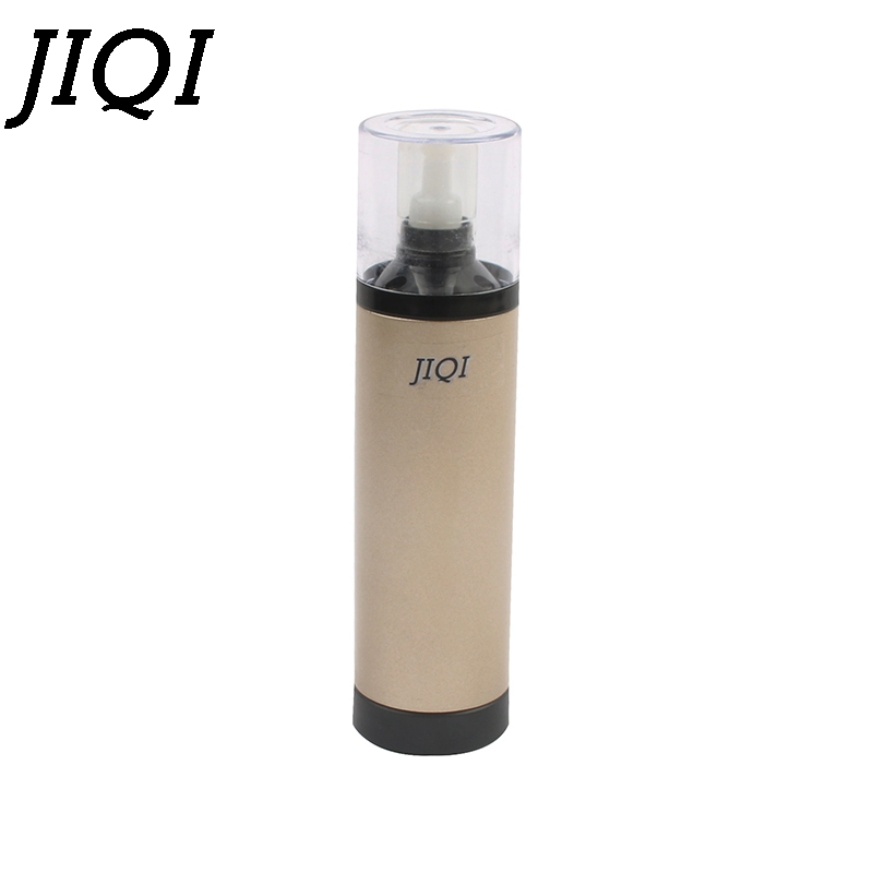 JIQI Mini Portable Hand Washer travel Extrusion clothes Washing Machine Handheld Laundry Stick battery powered electric cleaner Бутылка