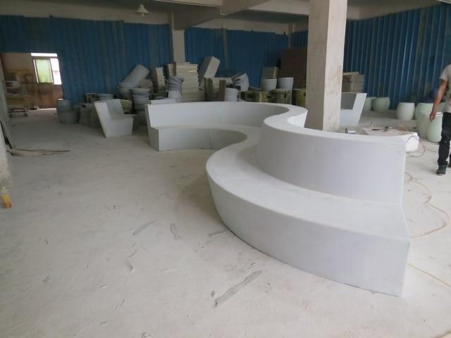Huizhou producci n de la f brica de fibra de vidrio sof - Muebles de fibra de vidrio ...